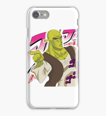 Shrek Bizzare Adventure iPhone Case/Skin