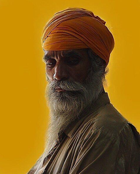 Sikh Sahib by Kaushik Chatterjee