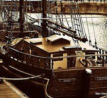 Sailing Ship ZEBU by Stan Owen