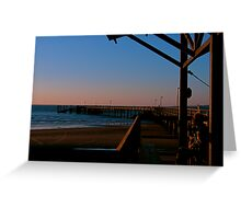 Just watching the sunset, Charlie Greeting Card