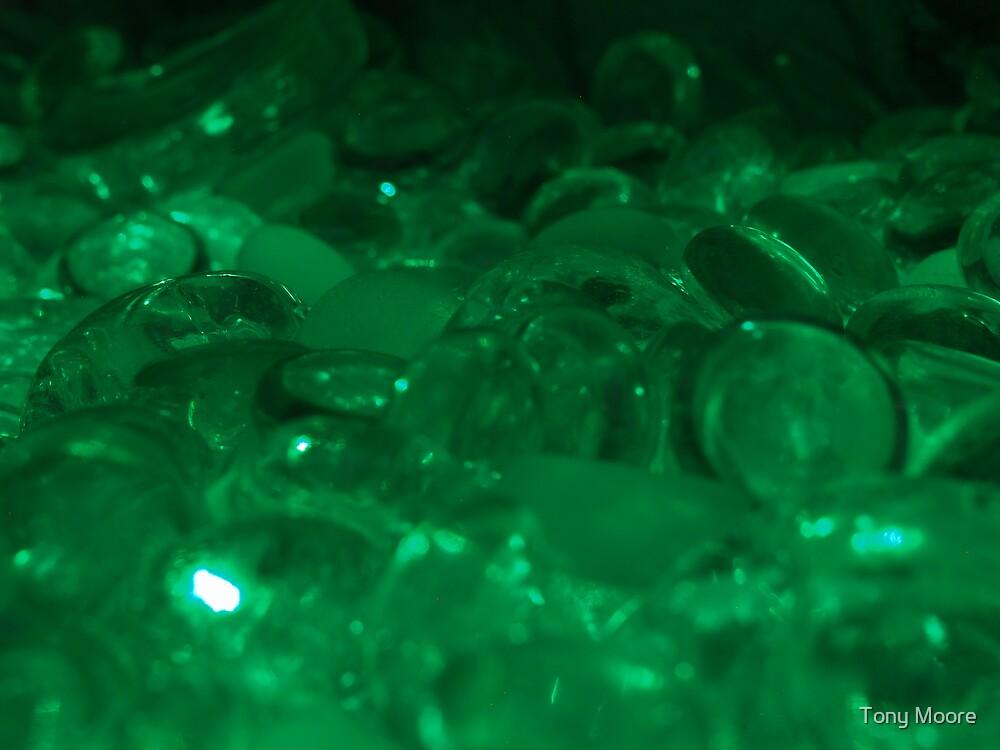 Green Bubbles by Tony Moore