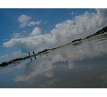 Cloud walking Photographic Print