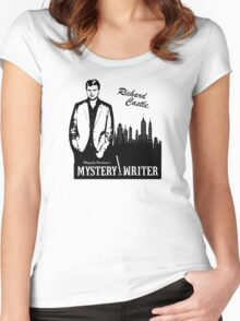 Richard Castle, Mystery Writer Women's Fitted Scoop T-Shirt