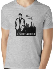 Richard Castle, Mystery Writer Mens V-Neck T-Shirt