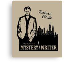 Richard Castle, Mystery Writer Canvas Print
