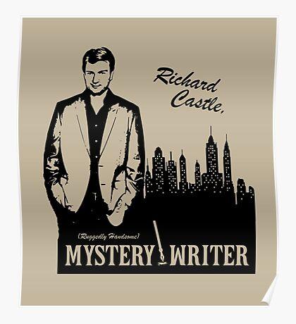Richard Castle, Mystery Writer Poster