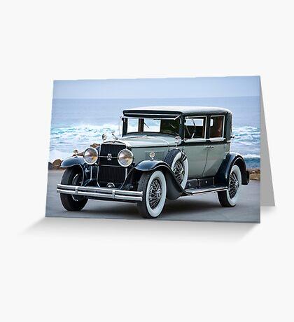 1931 Cadillac 341B Town Sedan Greeting Card