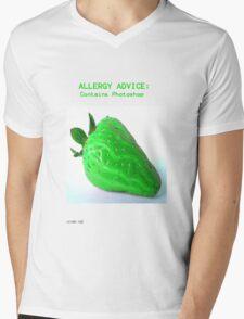 Allergy Advice Mens V-Neck T-Shirt