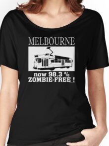 MELBOURNE - Now 98.3% zombie-free! Women's Relaxed Fit T-Shirt