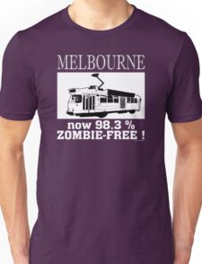 MELBOURNE - Now 98.3% zombie-free! Unisex T-Shirt