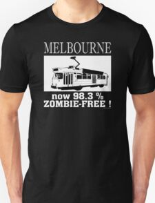 MELBOURNE - Now 98.3% zombie-free! T-Shirt