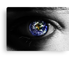 Spying on the World Canvas Print