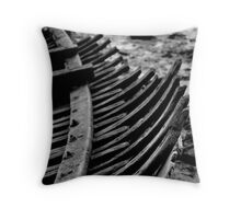 boat bones Throw Pillow