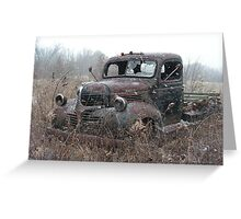 Retired Workhorse Greeting Card