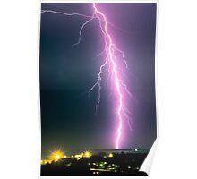 Darwin Lightning Poster