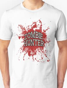 Zombie Hunter Red splatter Unisex T-Shirt