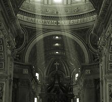 St Peters Basilica by Nicholas Averre