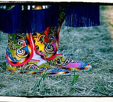 Beaded Moccasins by kalliope94041