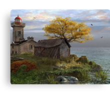 Little Island Bay Canvas Print