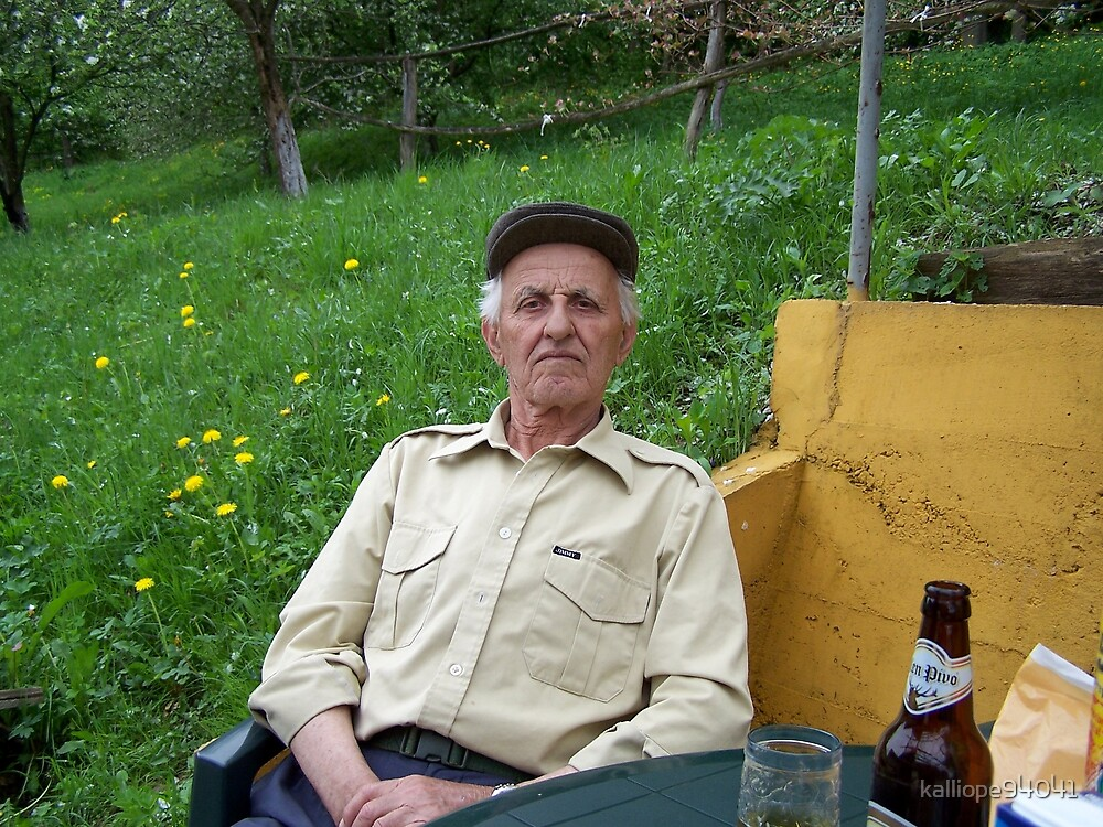 Bosnian Grandfather by kalliope94041