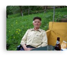 Bosnian Grandfather Canvas Print