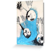 night men without bodies Greeting Card