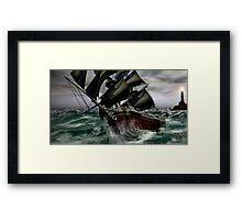 Disaster at Sea Framed Print