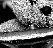 Lonely bear by huekoe