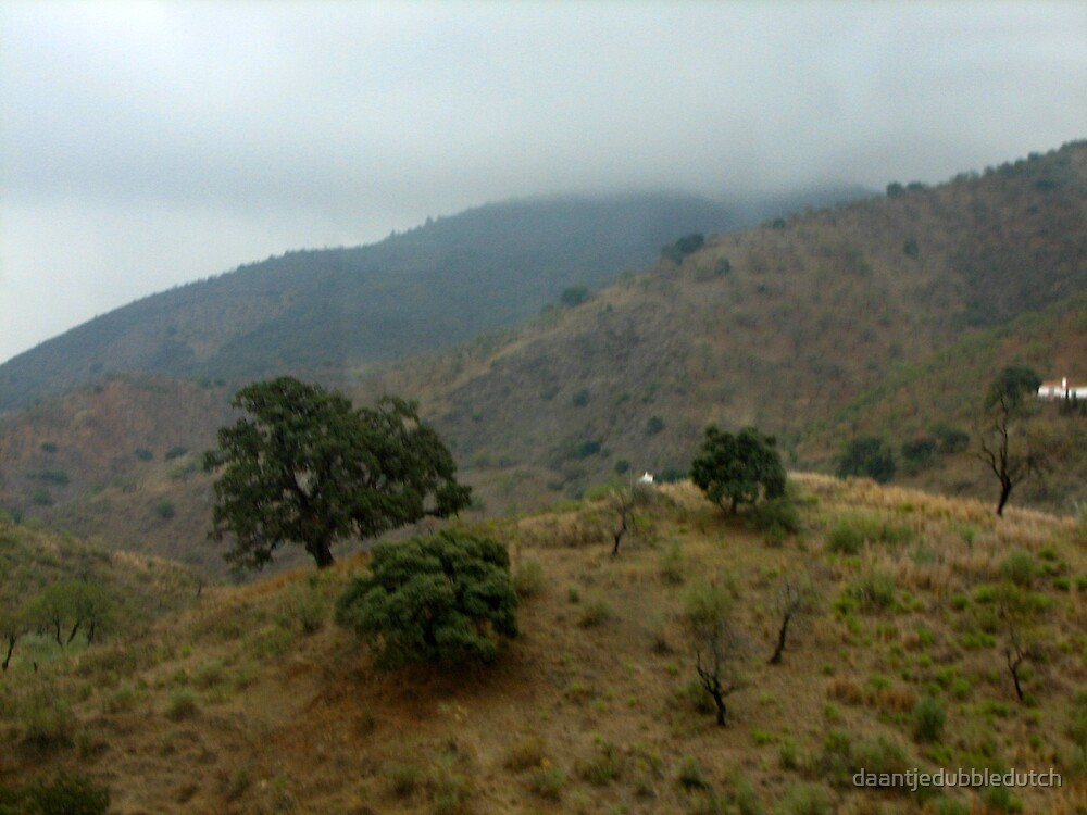 mountains in spain by daantjedubbledutch