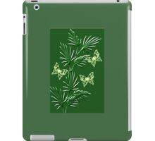 A leaf with butterfly   (5272  Views) iPad Case/Skin