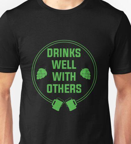 Social Drinker Unisex T-Shirt