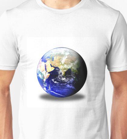 Earth Globe East Shadow Unisex T-Shirt