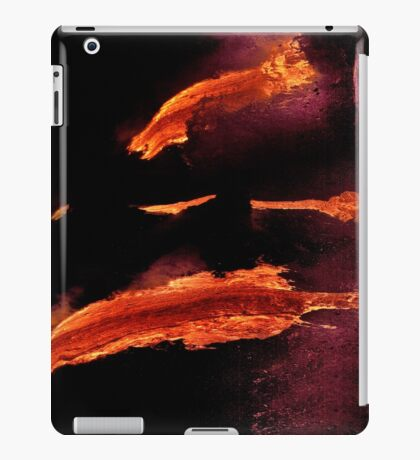 iPad Case.  Lava Flow at Kalapana 14. iPad Case/Skin