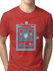 Flux Capacitor - If you don't know Tri-blend T-Shirt
