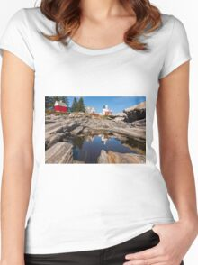 Pemaquid Reflection Women's Fitted Scoop T-Shirt
