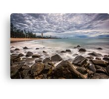 First Light on Burleigh Beach Canvas Print