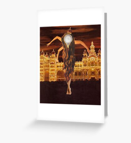M Blackwell - Long Live the Queen! Greeting Card