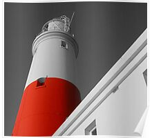 portland bill lighthouse. Poster