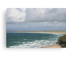 Carbis Bay to Porth Kidney Sands Canvas Print