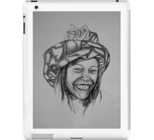 Aaliyah Marae  - Black and White iPad Case/Skin