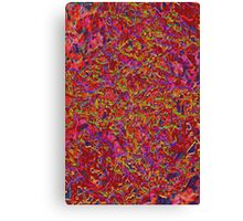 Tapestry(red) Canvas Print