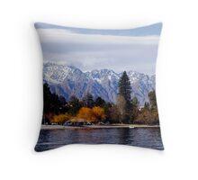 Lake Wakitupu - Queenstown Throw Pillow