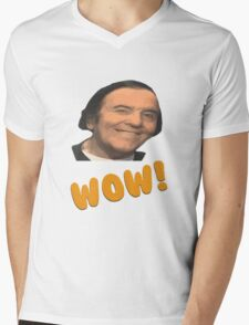 Eddy wally WOW! Mens V-Neck T-Shirt