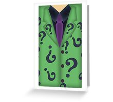 Riddle Me This Greeting Card
