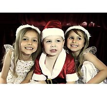 We Are Ready For Christmas! Photographic Print