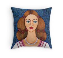 Ines de Castro Throw Pillow