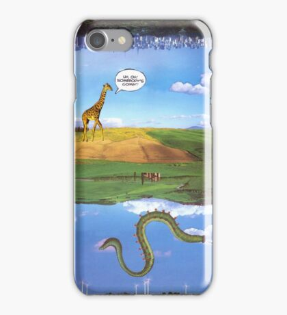 M Blackwell - Layerland 1: What a Dork iPhone Case/Skin