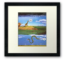 M Blackwell - Layerland 1: What a Dork Framed Print