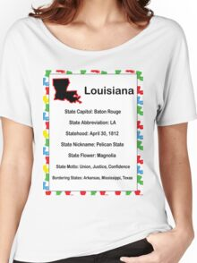 Louisiana Information Educational  Women's Relaxed Fit T-Shirt