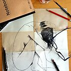 notebook with again & again by Loui  Jover